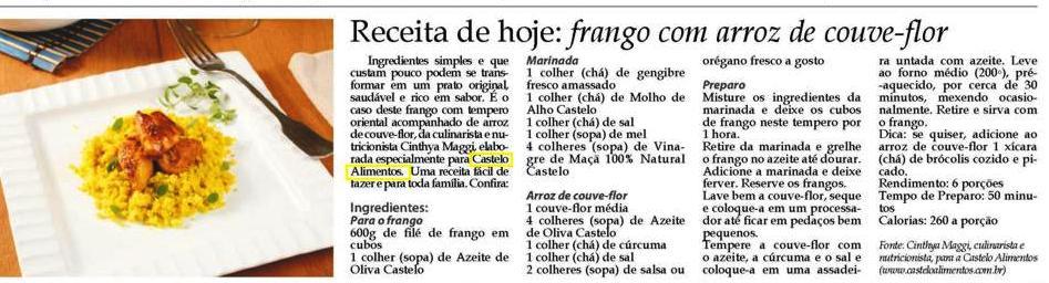 07c9cc02faf0 ... CASTELO ALIMENTOS | Gazeta de Pinheiros 8 a 14/02 ...